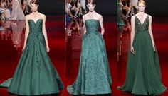 Elie Saab fall winter 2013 2014 red carpet celebrity looks dresses gowns collection