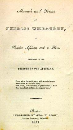 thomas jefferson and phillis wheatley