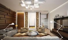 Stilvolle Und Luxuriose Interieure Iryna Dzhemesiuk | Apartment Interior In Dubai Living Room Inspiration Pinterest