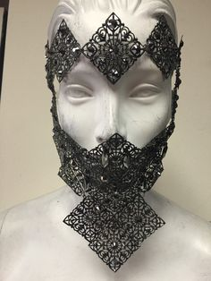 A personal favorite from my Etsy shop https://www.etsy.com/listing/250906411/brass-lace-mask