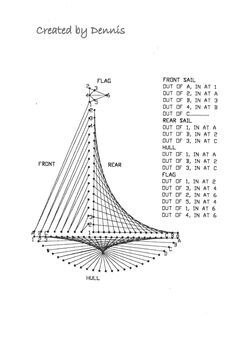 string art ship patterns - Google Search