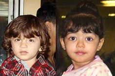 Amitabh Bachchan approves of AbRam-Aaradhya pairing