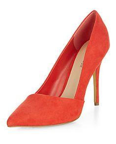 Escarpins pointus rouges | New Look