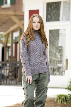 Ravelry: Cold Mountain Pullover pattern by Amy Gunderson