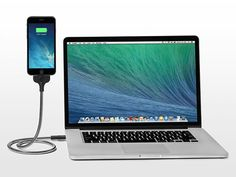 Bobine Flexible iPhone Charging Dock: The Gravity-Defying, MFI-Certified Charging Cable, Flexible Dock & Tripod Gadgets And Gizmos, Technology Gadgets, Apple Iphone, Inspector Gadget, Iphone Charger, Iphone Accessories, Charging Cable, Cool Items, Optical Illusions