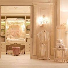 Ideas for Children's Closet Organizations Baby Bedroom, Nursery Room, Kids Bedroom, Kids Rooms, Babies Rooms, Room Kids, Nursery Furniture, Nursery Ideas, Kid Closet