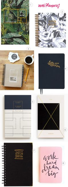 Seasonal Stationery: 2016 Planners / Oh So Beautiful Paper