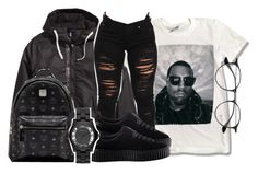 """""""Untitled #150"""" by trillqueen34 ❤ liked on Polyvore featuring adidas Originals, Ray-Ban, Puma, MCM and Marc by Marc Jacobs"""