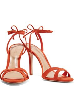 Lucie suede sandals | Schutz | US | THE OUTNET