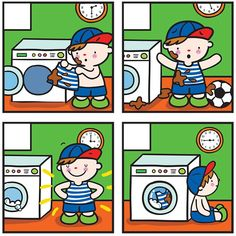 (2017-07) 4 billeder, vaskemaskine