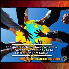 If you can't be better tomorrow than you were today, why get out of bed? #tomorrow #bartism http://emaginesuccess.com