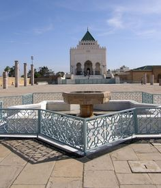 """Mausoleum in Rabat www.feetupmagazine.com """"Put your feet up and let us do the legwork."""""""
