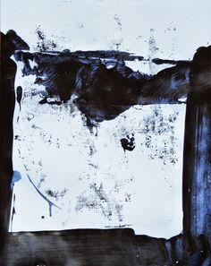 "Ian MacLeod   'Untitled'   9.5""x7.5"" Acrylic on paper."
