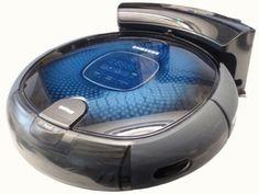 Samsung NaviBot robotic vacuum cleaner.