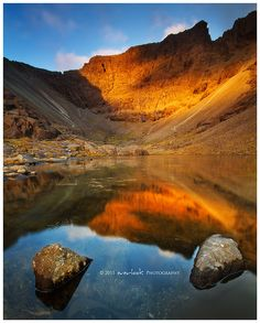 ✯ The Great Stone Chute - Black Cuillin Ridge - Isle of Skye, Scotland  'A life inspired by ideas' http://projectshomes.com