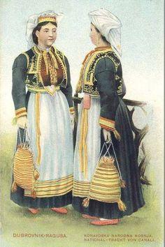 Croatian traditional costumes