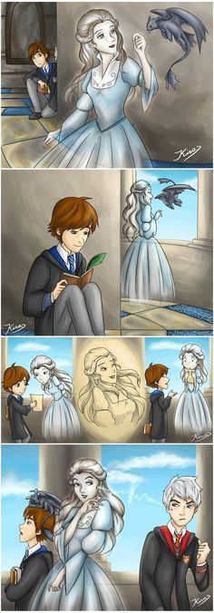 This is so sweet! I also feel that ravenclaw is more fit for hiccup