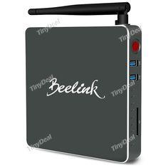 Beelink BT7 Windows 10 Intel Atom X7 Z8700 Quad-core 4GB 320GB Mini PC w/ WiFi HDMI USB x 3 Ethernet E-515583
