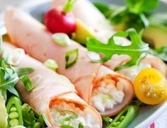 5 2 Diet, Fresh Rolls, New Recipes, Appetizers, Healthy, Breakfast, Ethnic Recipes, Food, Simple
