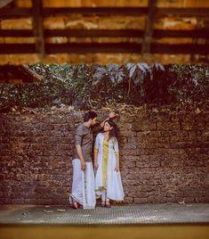 Kerala Wedding Photography, Wedding Couple Poses Photography, Outdoor Photography, Pre Wedding Poses, Pre Wedding Photoshoot, Photoshoot Ideas, Wedding Couple Pictures, Romantic Wedding Photos, Relationship Goals Pictures