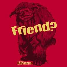 Labyrinth Ludo Friend Red T Shirt