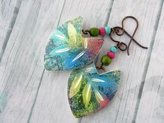 Polymer Clay Art, Polymer Clay Earrings, Terracotta Jewellery, Clay Crafts, Designer Earrings, Jewelry Art, Jewelry Ideas, Pendant Necklace, Drop Earrings