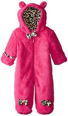 510dbfdfc Weatherproof BabyGirls Newborn Butter Sherpa Fleece Pram Pink Rose 36  Months >>> Find out