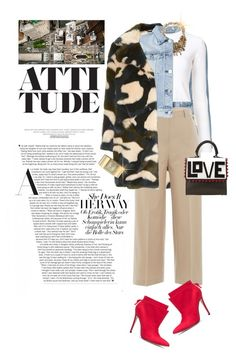 """""""Dress with Attitude!!!"""" by shortyluv718 ❤ liked on Polyvore featuring 3x1, Proenza Schouler, National Geographic Home, Carolee, Piazza Sempione, Les Petits Joueurs and Anne Klein"""