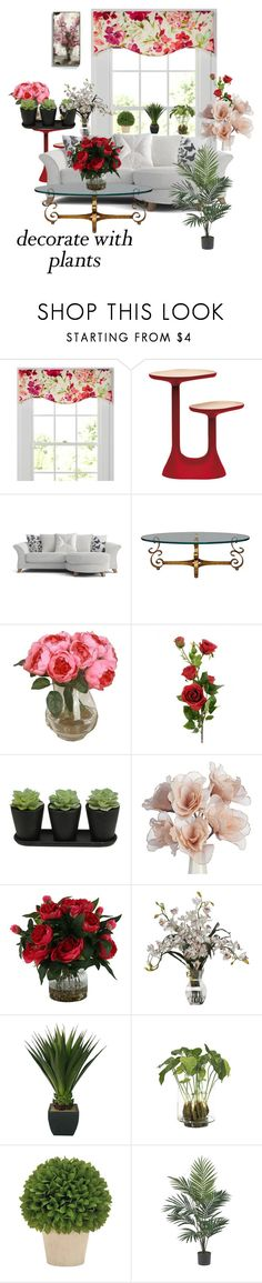 """Grow a Little: Planters"" by amiraahmetovic on Polyvore featuring interior, interiors, interior design, home, home decor, interior decorating, Country Curtains, Moustache, NDI and Nearly Natural"