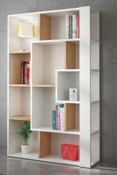 91 veces he visto estas serenas muebles minimalistas. Bookshelf Design, Wall Shelves Design, Creative Bookshelves, Home Decor Furniture, Diy Home Decor, Furniture Design, Room Decor, Living Room Partition, Room Partition Designs