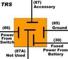 electric fans with relay wiring 12 volt dc pinterest electric rh pinterest com How Relay Works in Circuit How Control Relay Work