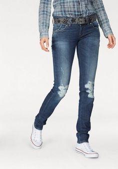 """LTB Slim-fit-Jeans »MOLLY«, mit Doppelknopf-Bund für 69,95€. Enge Röhrenjeans """"Molly"""" von LTB bei OTTO"""