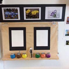 Kom och skapa! #förskola #preschool #reggioemilia #kindergarten #skapande #ateljé #vårtecken