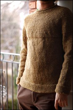 Cobblestone Pullover by Jared Flood Published in Brooklyn Tweed [Printed: this source is a book, magazine, or pamphlet] Interweave Knits, Fall 2007
