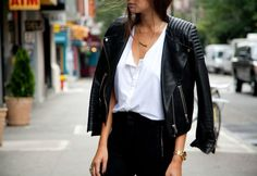 How to Wear Your Leather Jacket This Summer