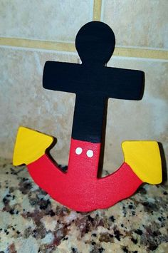 Mickey Mouse Craft Anchor
