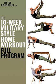 FREE Bodyweight Workout Training Program | Get in Shape at Home FAST! No equipment needed