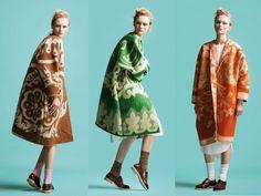 Marit Ilison: пальто из советских <b>одеял</b> in 2019 | color and texture ...
