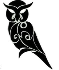 Athena: Tattoo idea to represent Athena.  I want to put this on a shirt.