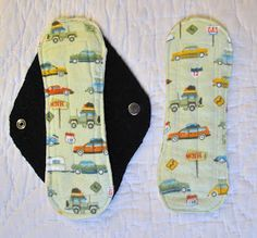 make your own cloth pads