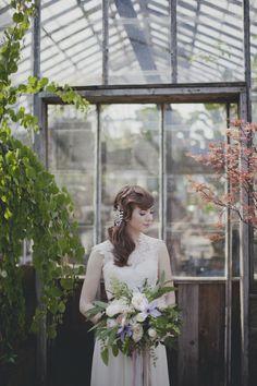 Garden Tea Party Styled Shoot on @IntimateWeddings.com Photography by Terra Lange Photography. Styling by @Something Borrowed Portland Vintage Rentals #gardenwedding #wedding