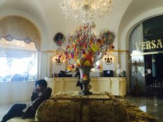 Le Negresco Hotel in Nice! Best best best!!