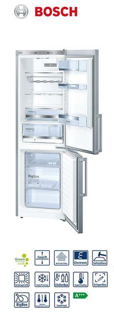 Réfrigérateur-congélateur combiné | Volume partie réfrigérateur : 214L | Volume partie congélateur : 88L