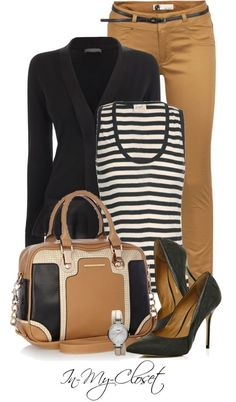 """Off To Work"" by in-my-closet ? liked on #Work Outfits for Women #Perfect Work Attire #Work Outfits for Men #Work Attire