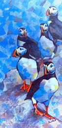 Cliftop Puffins