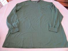Polo Ralph Lauren L/S T shirt 2XLT TALL Men's 0486994 BT BNT03 Green NEW NWT