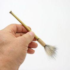 Bamboo, Coyote Tail Paint Brush, Paintbrush, Detail Brush