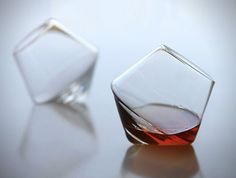 Hand Blown Sempli Crystal Glass Cupa Tumblers  (4)