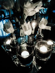 Candles , vases by zari