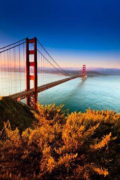 Golden Gate Bridge, San Francisco - House Beautiful